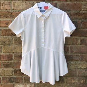 309 HD in Paris Anthropology White Short Sleeve M